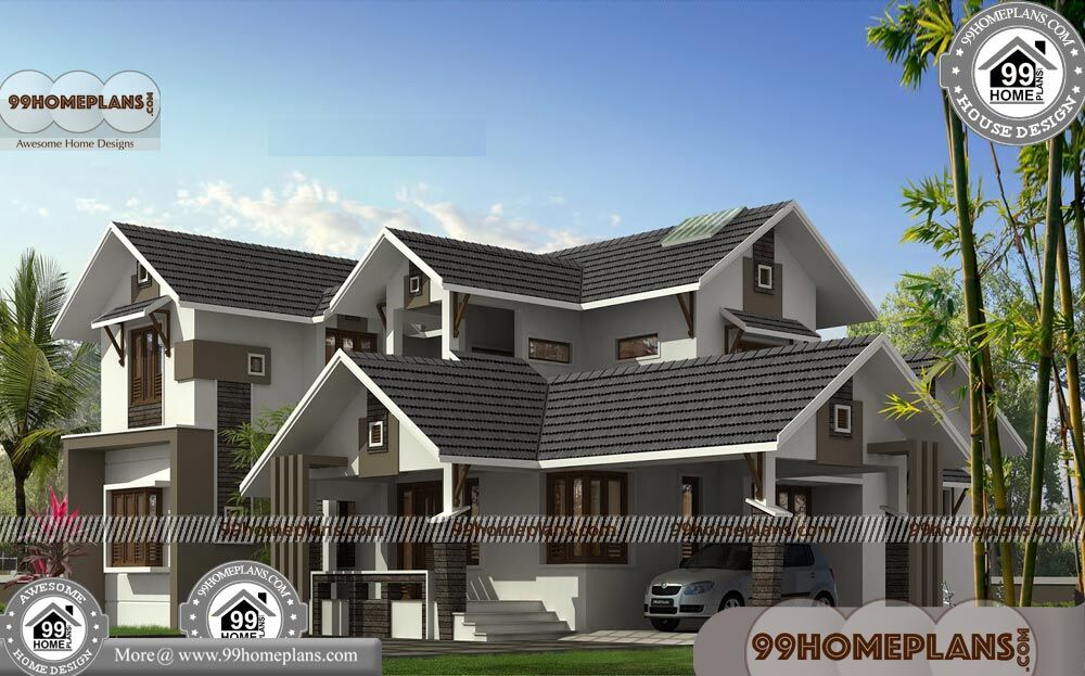 Contemporary House Designs and Floor Plans 90+ Two Story Homes