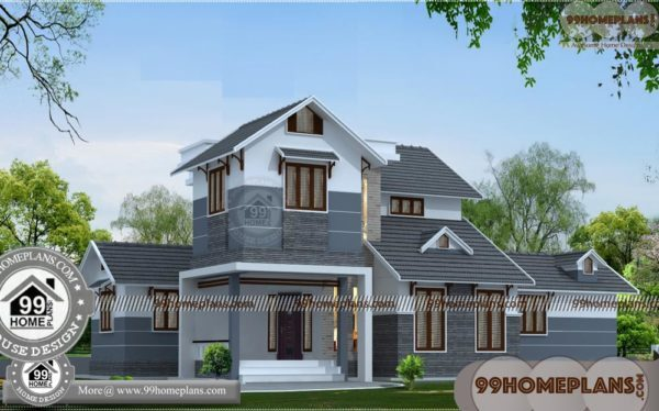 Corner Lot House Plans With Indian House Designs Double