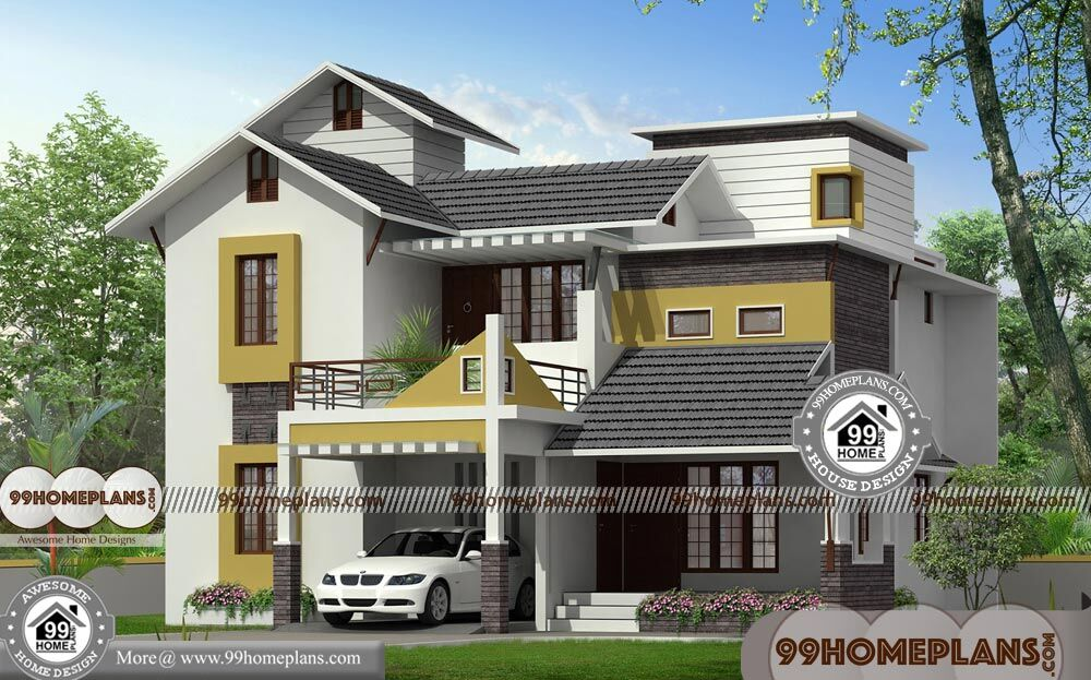 Country House Ideas 75+ 3D Double Storey House Plans Modern Designs