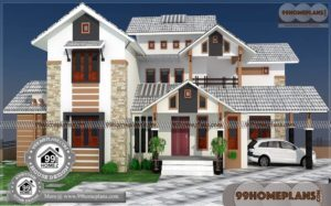 Cute Small Houses 85+ Best Two Story House Plans Modern Designs