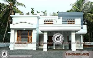 Duplex House Elevation Designs India 80+ 2 Storey Villa Designs Online