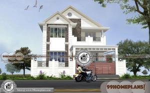 Efficient House Plans | 50+ 2 Storey Narrow Lot Homes with 3D Elevations