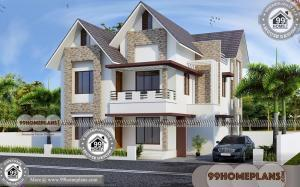 Elevated Home Plans & 100+ Two Storey Modern House Plans Collections