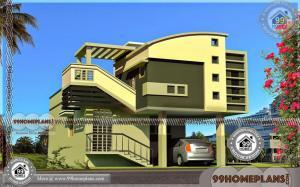 Elevation Design Photos Residential Houses | Double Floor House Design