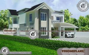 Elevation for Small Houses in Indian Style | 90+ New 2 Story House Plans