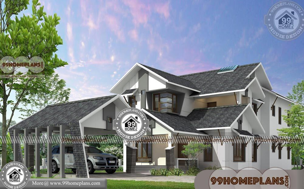 Floor Plan of A Two Storey House 45+ 2 Story Small House Design Plans