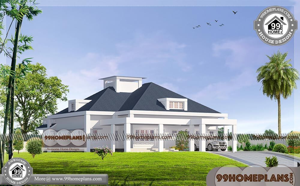 Floor Plans One Story Kerala Traditional Home Design Modern Collections