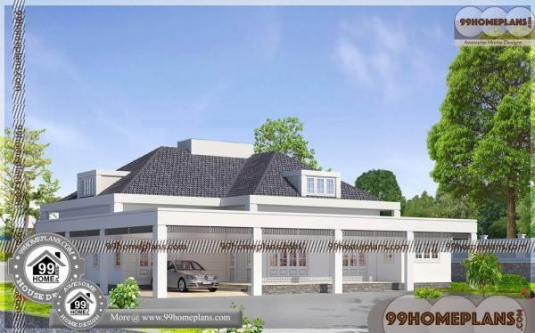 Floor Plans Single Story Traditional Kerala House Plans Modern Designs