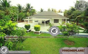 Four Bedroom House Plans One Story 50+ Kerala Style Traditional Houses