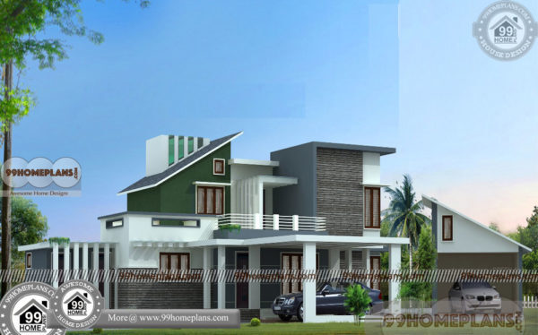 Free Online House Design | Indian House Designs Double Floor Collection