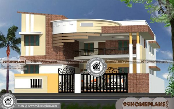 Front Design Of Double Story House