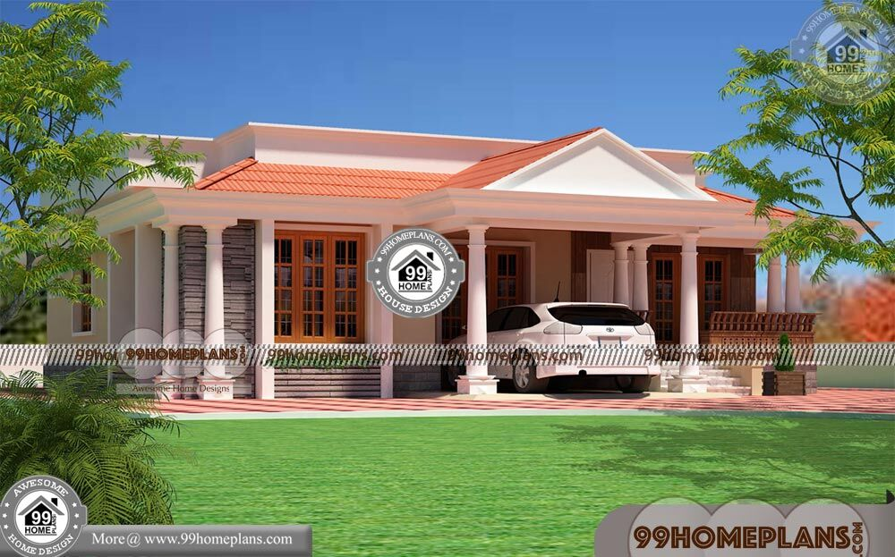Front Elevation For Single Floor House 100+ 2 Storey Home Plans Free