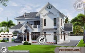Front Elevations of Indian Homes 60+ House Plans Double Storey Online