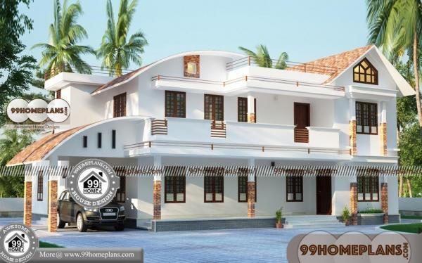 Front Home Design Double Story with 3D Front Elevation Design Plans