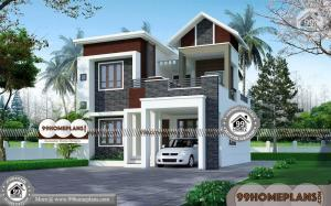 Front House Design for Small Houses 80+ New Two Story House Plans