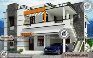 Garage in Front of House Plans 85+ Two Floor House Plans Modern Ideas
