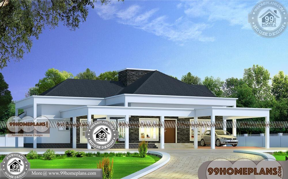 Home Design Single Floor 50+ Kerala Traditional House Models Collection