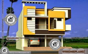 Home Exterior Design Indian Style | 45+ Top Double Storey Home Plans