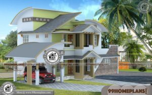 Homes For Narrow Lots | Home Design Low Budget Double Story Homes