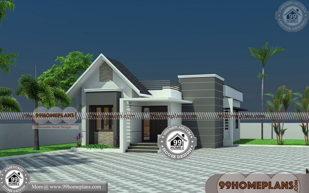 House Design One Floor 90+ Home Elevation Models Stylish Collections
