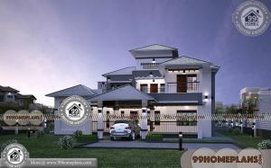 House Front Elevation Images & Double Story House Front Design Photos