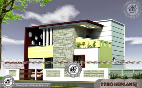 House Plan And Elevation Drawings | 500+ New Modern 2 Storey Homes