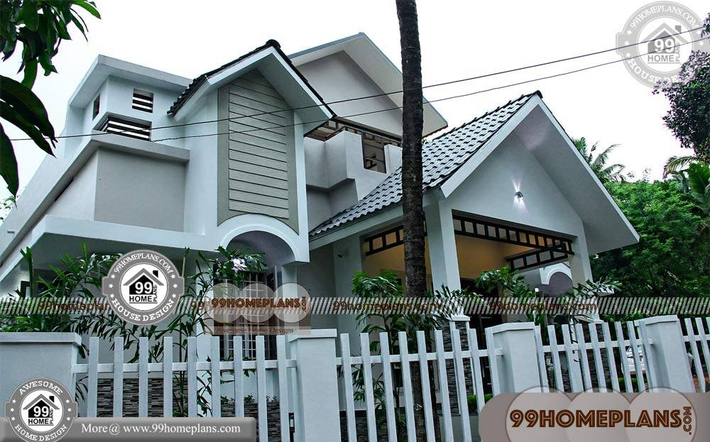 Indian Front Home Designs | 60+ Small Modern 2 Story House Plans Ideas