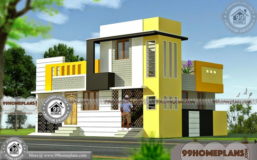 Indian Home Elevations 45 Ultra Modern Double Storey