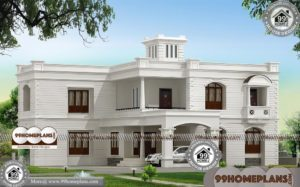 Indian Home Front Elevation Design | Luxury House Plans With Photos