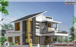 Indian House Design Pictures | 50+ Luxury 2 Story House Plans Online