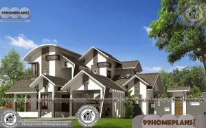 Kerala Contemporary Style House Plans 75+ Small 2 Story House Design