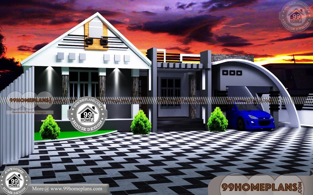 Kerala Home Design and Floor Plans | 70+ Luxury 1 Story House Plans