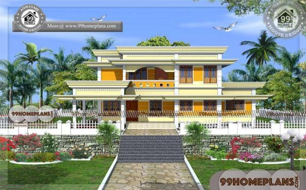 Kerala House Design With Floor Plans Traditional House Exterior Design
