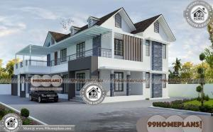 Kerala Small House Photos & 90+ Modern Double Story House Plans