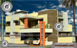 Latest Elevation Designs | 500+ New Double Storey Houses With Balcony