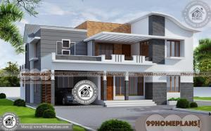 Latest Home Front Elevation 50+ Two Level House Plans Modern Designs