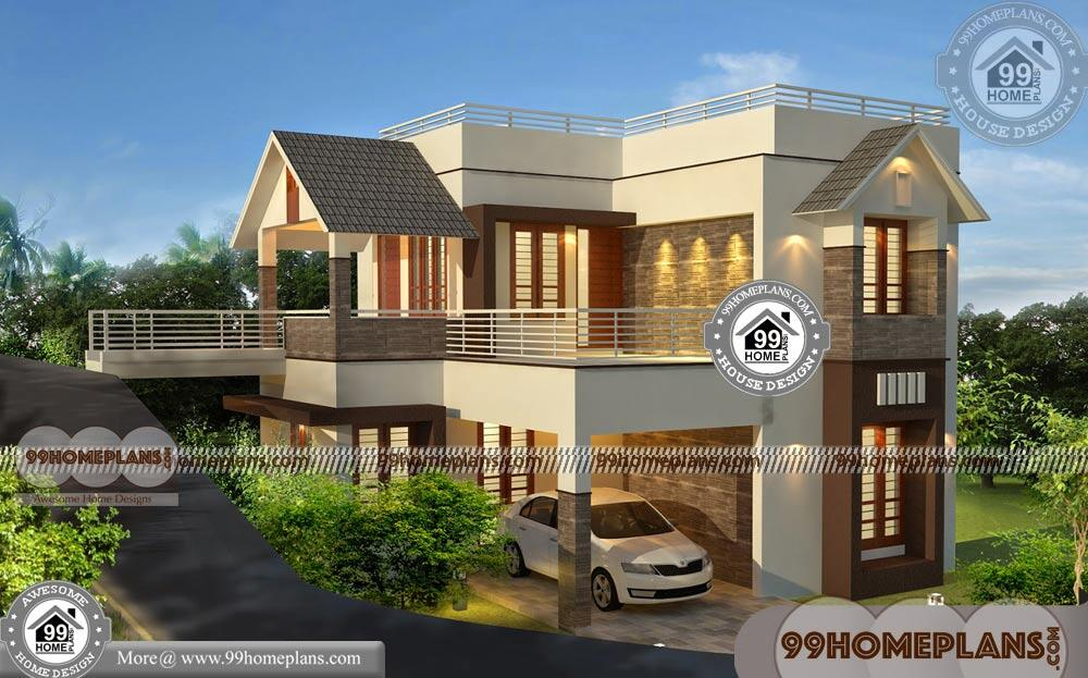 Low Cost House Designs and Floor Plans & 90+ Small Two ...