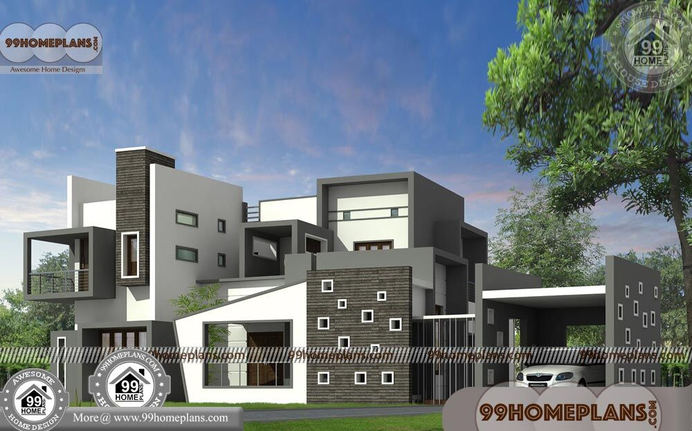 Luxury Contemporary House Plans 60+ Small Double Storey Homes