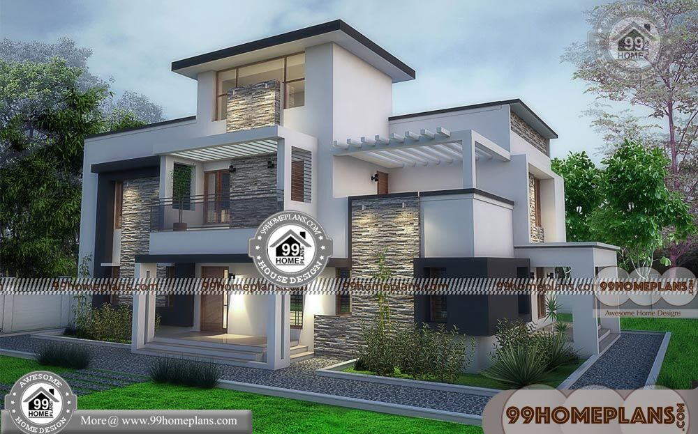 Modern House Design For Small Lot with Small Double Story ...