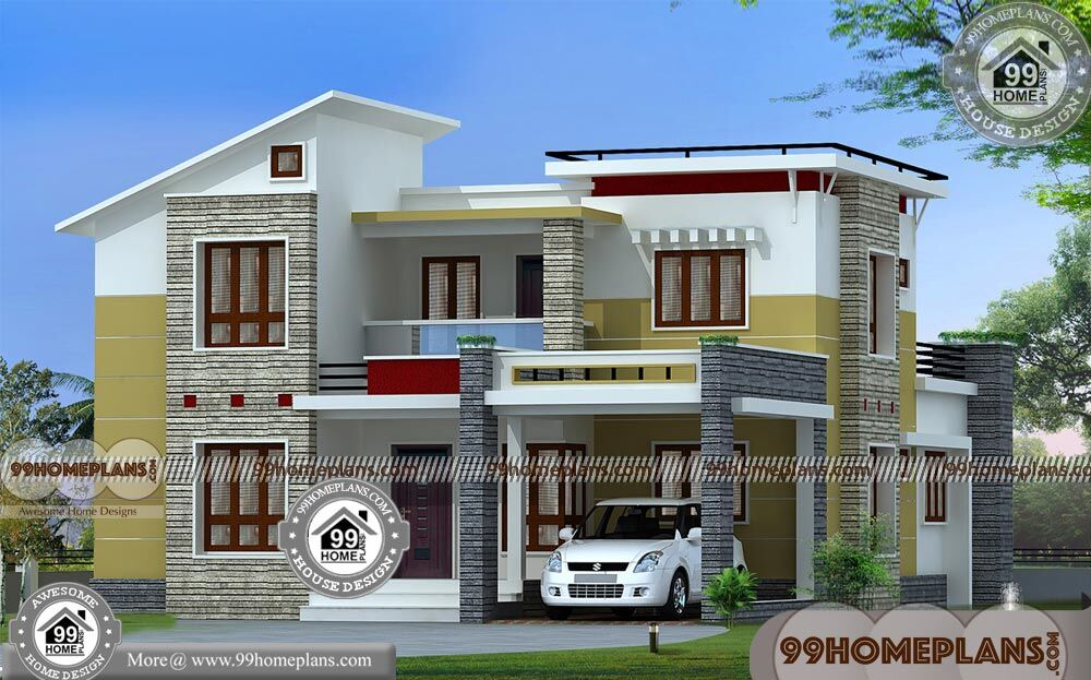 Small house plan with elevation for Small house elevation in india