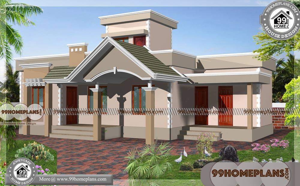 Modern Small House Plans & 80+Contemporary Kerala Homes Collections