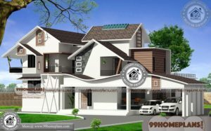 Modern Style Floor Plans & Beautiful Double Story Houses 100+ Plans