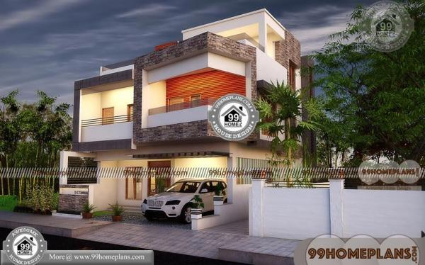 Narrow lot floor plans 3 story with modern contemporary house plans
