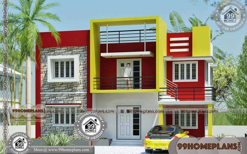 Narrow Lot Home Design Collections 90+ Modern House Two Storey Plans