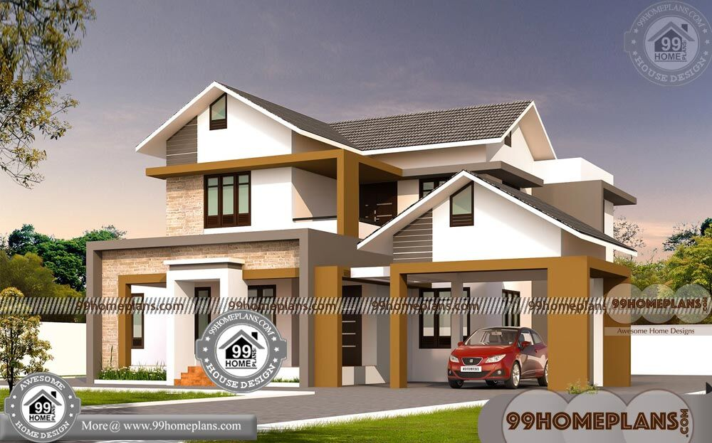 Narrow Lot House Plans with Two Story Home Floor Plans ...