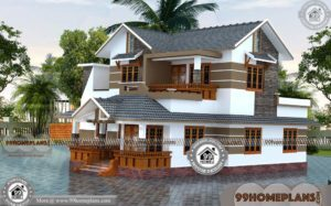 New Double Storey House Designs | 100+ Beautiful Houses In Kerala