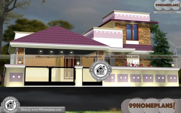 New Floor Plans With 3D Front Elevation Design Kerala Modern House