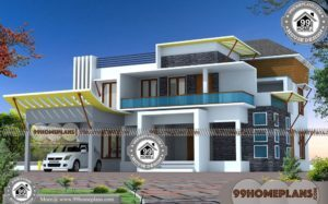 New Home Designs in India & Best Two Story House Plans Online Designs