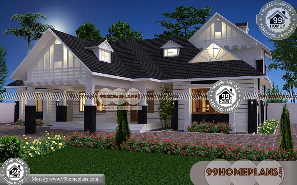 New Home Elevation Design   90+ Narrow Lot House Plans Single Story