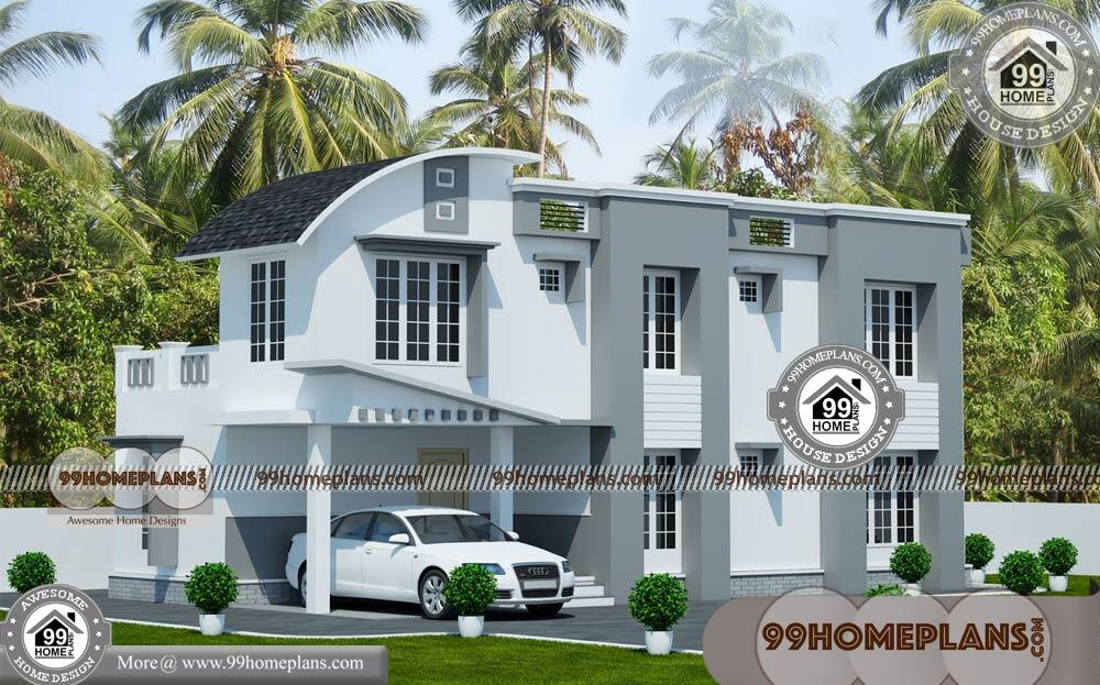 New Home Front Elevation | 50+ Narrow Lot 2 Story House Plans Online